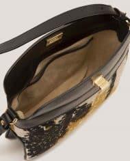 ARDORAGE-chloe-lady-bag-leather-black-and-vintage-fabric-lining-2