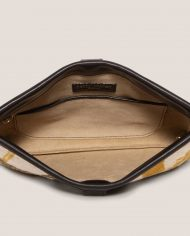 ARDORAGE-marlen-clutch-black-leather-and-vintage-fabric-Petty-Things-close-lining