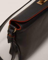 JUDY-chloe-lady-bag-leather-black-Petty-Things-side-detail