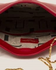 Petty Things (ref # MPR-39) – interior detalle bolso cuero rojo