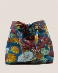 Big bag made of vintage fabric for this summer by Petty Things (#NTFA-44)
