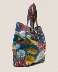 Side view bag made of vintage fabric for this summer by Petty Things (#NTFA-44)